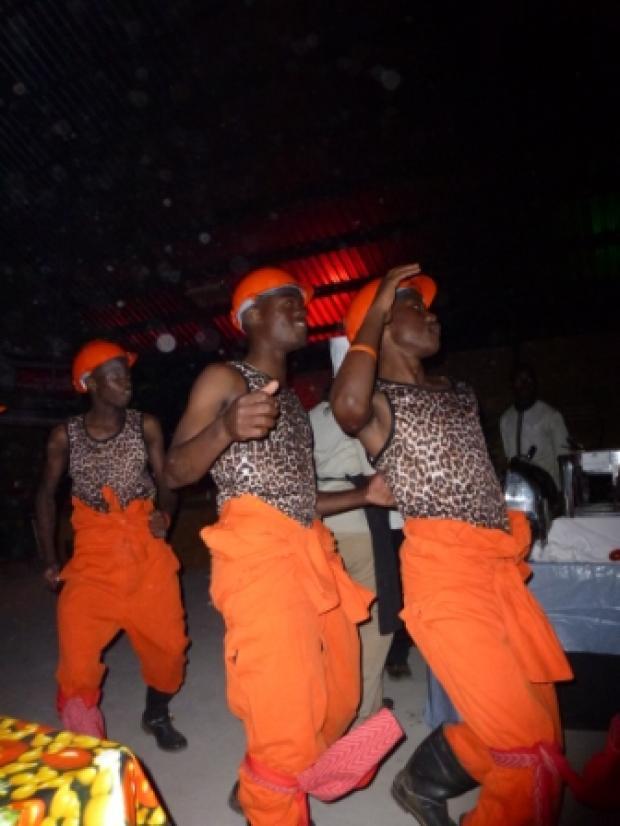 Gumboot dansers
