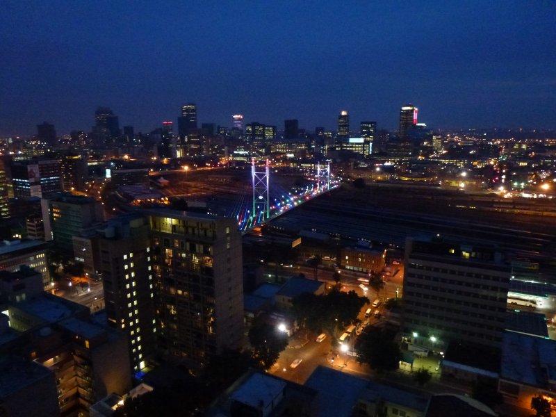 Johannesburg by night