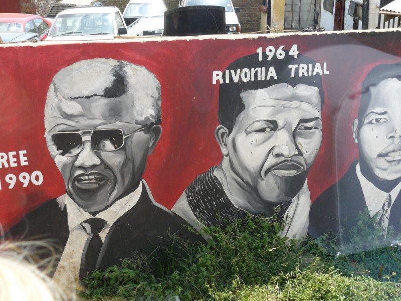 Muurschildering Soweto