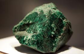 Precious stone emerald found in Zambia