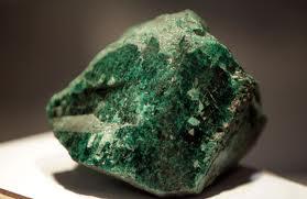 Precious stone emerald found in Zambia