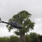 Flight of Angels vliegt in 15 minuten over watervallen Victoria Falls