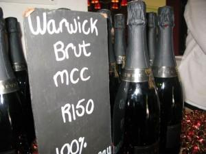 Wijnproeven bij Warwick in Stellenbosch