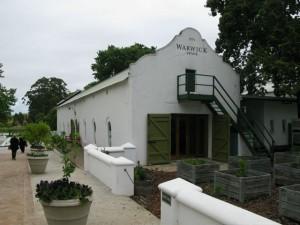 Wijnboederij Warwick Stellenbosch