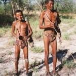 Bushmen Botswana can't hunt, tourists can